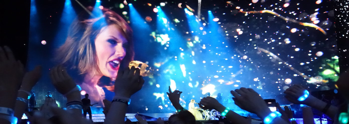 Taylor Swift 1989 World Tour Hyde Park London Essentially English